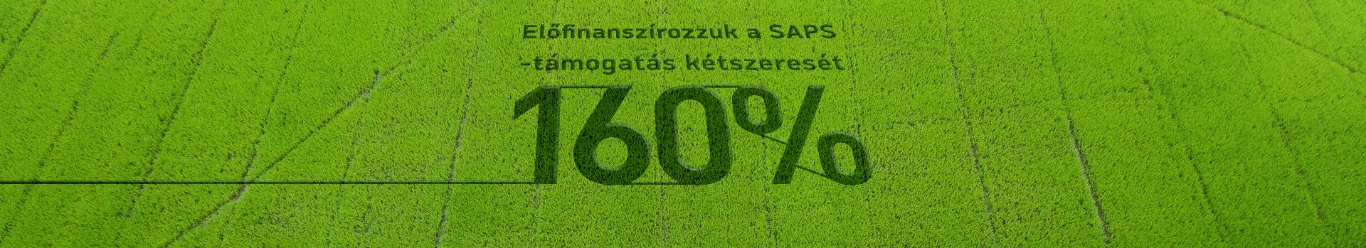 Az APIA SAPS-támogatás kettős előfinanszírozási hitel