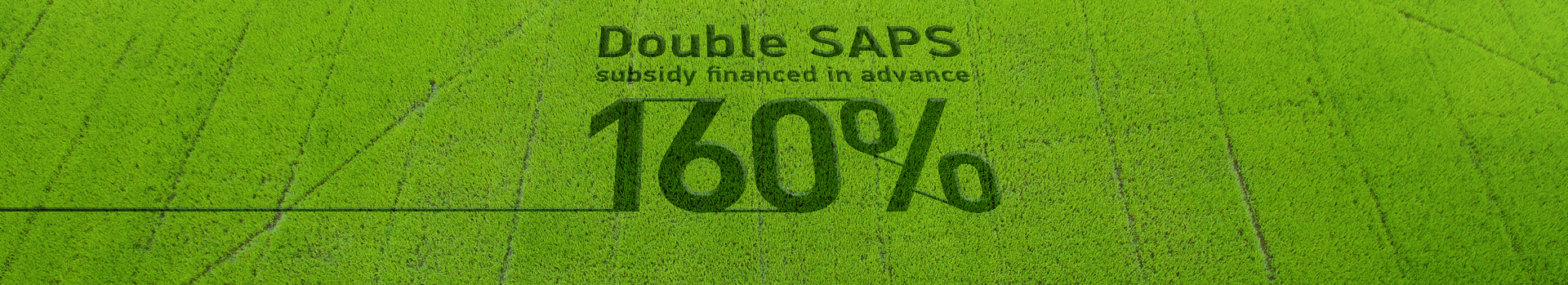 Double SAPS Pre-financing Loan